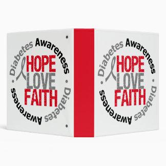 Carpeta de la fe del amor de la esperanza de la di