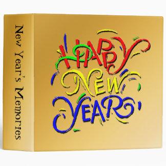 Carpeta de la Feliz Año Nuevo