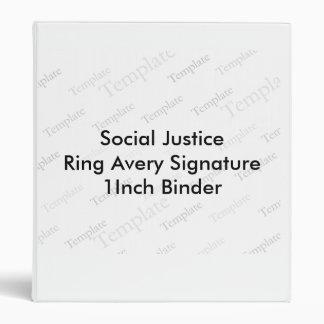 Carpeta de la firma 1Inch de Avery del anillo de