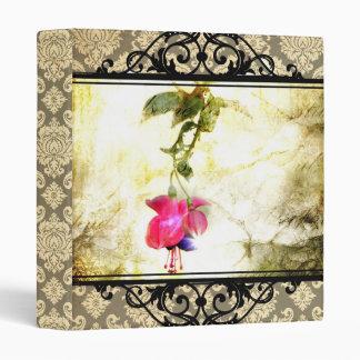 Carpeta de la flor del damasco