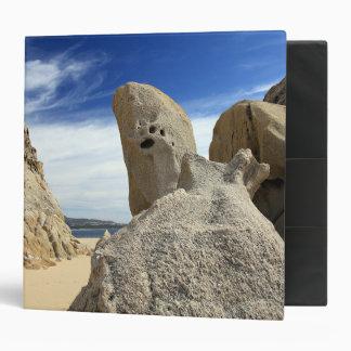 Carpeta de la formación de roca de Cabo San Lucas