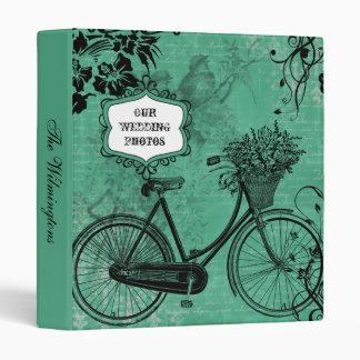Carpeta de la foto de la bicicleta del trullo del