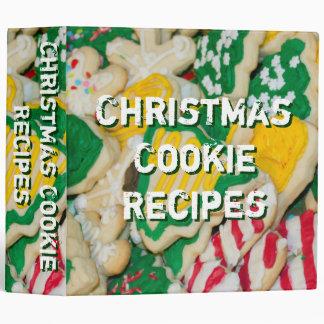 Carpeta de la foto de las galletas de las recetas