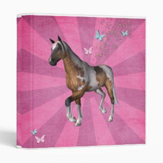 carpeta de la foto del caballo del resplandor sola