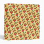 Carpeta de la fruta de la fresa