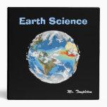 Carpeta de la geología del profesor