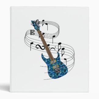Carpeta de la guitarra eléctrica