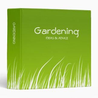 Carpeta de la hierba verde
