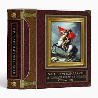 Carpeta de la investigación de la guerra napoleóni