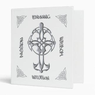 Carpeta de la luz de la cruz céltica