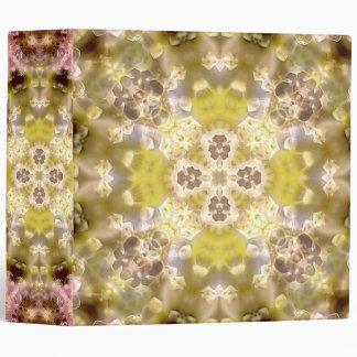 Carpeta de la mandala IV del resplandor del flor (