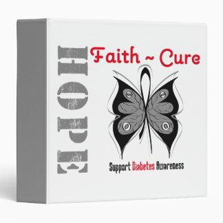 Carpeta de la mariposa de la curación de fe de la