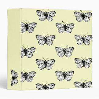 Carpeta de la mariposa de Rapae del Pieris