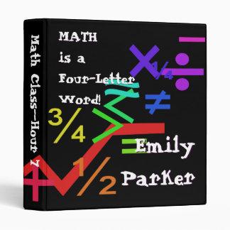 Carpeta de la matemáticas