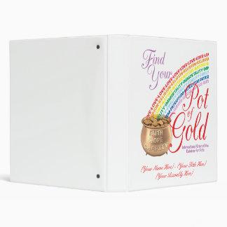 Carpeta de la mina de oro de los chicas del arco