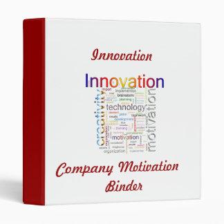 Carpeta de la motivación de Innovation Company
