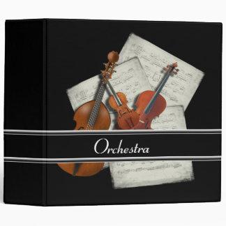 Carpeta de la música de la orquesta
