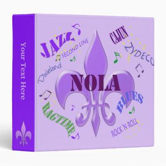 Carpeta de la música de Nola New Orleans