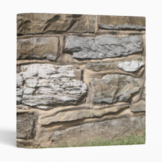 Carpeta de la pared de piedra