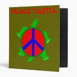 Carpeta de la paz de la tortuga