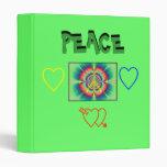 carpeta de la paz del flower power