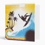 Carpeta de la persona que practica surf