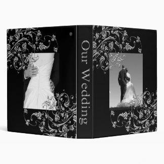 Carpeta de la plantilla del álbum de foto del boda