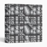Carpeta de la plata metalizada