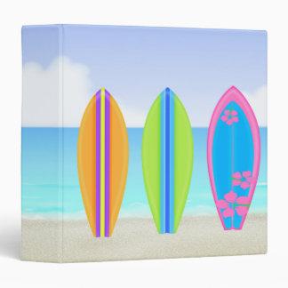 Carpeta de la playa 3-Ring de las tablas hawaianas