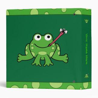 Carpeta de la rana (personalizable)