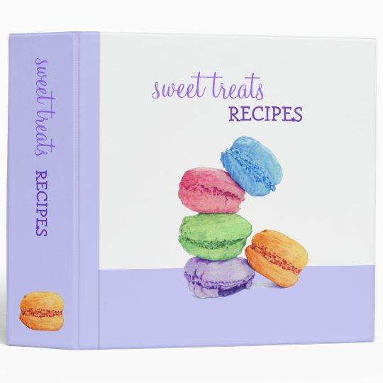 Carpeta de la receta de 5 Macarons