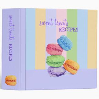 Carpeta de la receta de 5 rayas de Macarons
