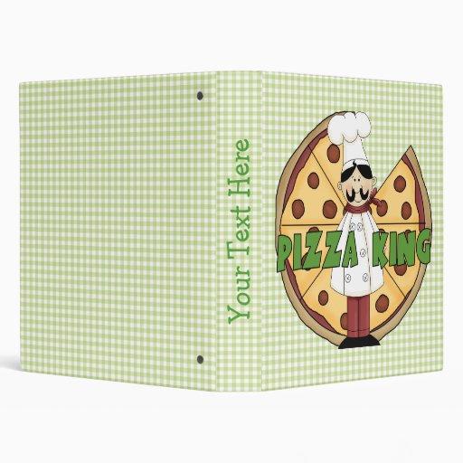 Carpeta de la receta de la pizza