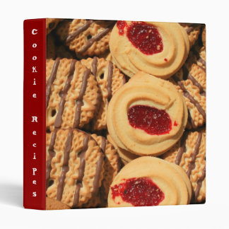 Carpeta de la receta de las galletas