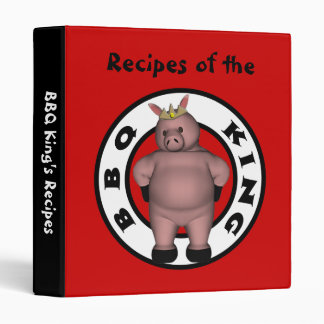 Carpeta de la receta del Bbq
