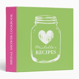 Carpeta de la receta del libro de cocina del