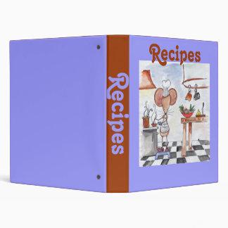 Carpeta de la receta del ratón de la cocina