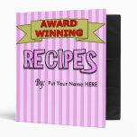 Carpeta de la receta para las recetas premiadas