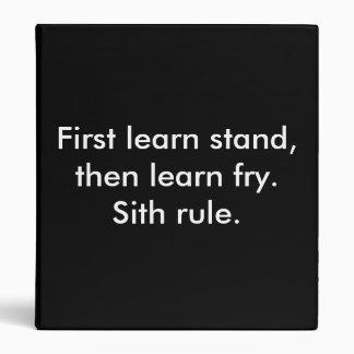 Carpeta de la regla de Sith