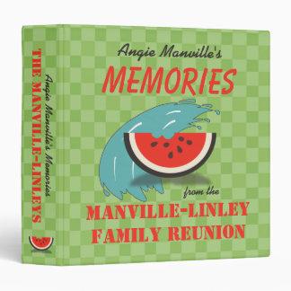 Carpeta de la reunión de familia del personalizado