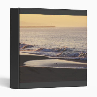 Carpeta de la salida del sol del océano