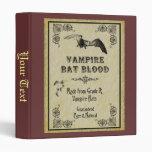 Carpeta de la sangre del palo de vampiro