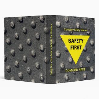 Carpeta de la seguridad del trabajo