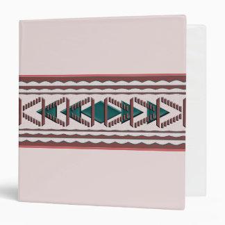 Carpeta de la tapicería 3-Ring del sudoeste
