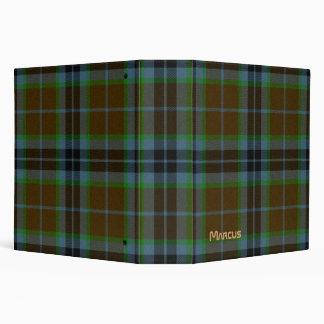 Carpeta de la tela escocesa de Thomson