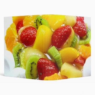 carpeta de la torta de la fruta