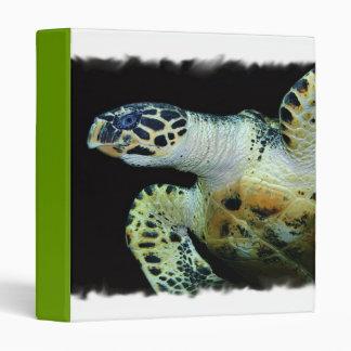 Carpeta de la tortuga de mar del Leatherback