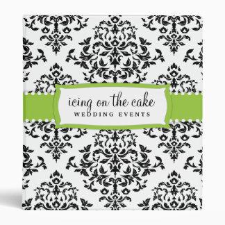 Carpeta de la verde lima de la guinda del pastel