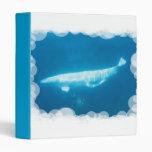 Carpeta de las ballenas de la beluga de la natació