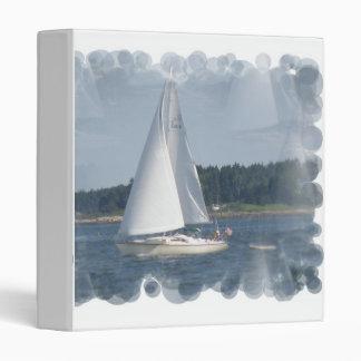 Carpeta de las burbujas del barco de vela